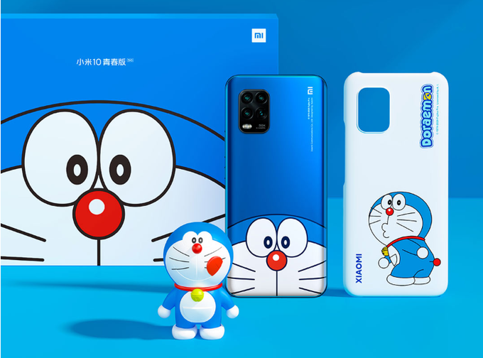 Mi 10 Youth Doraemon Limited Edition – 50th Anniversary.