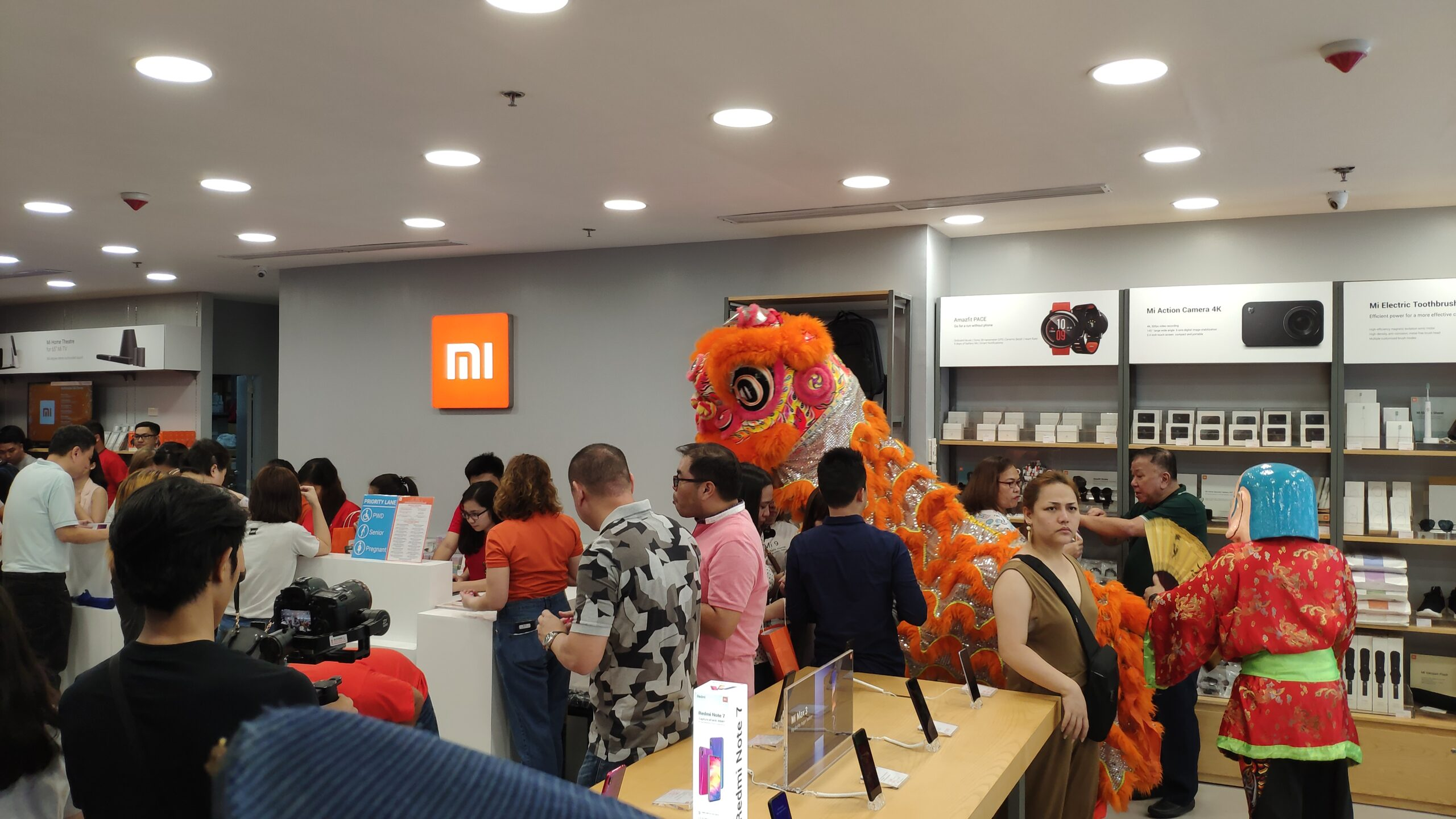 8th Store of Mi Philippines Opened Today March 30th at Lucky Chinatown Mall!