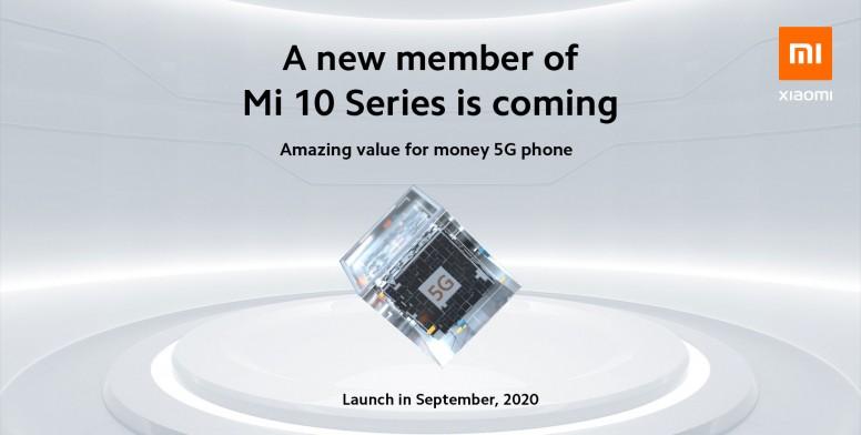 Xiaomi Teases Mi 10T Series – A New 5G from Xiaomi