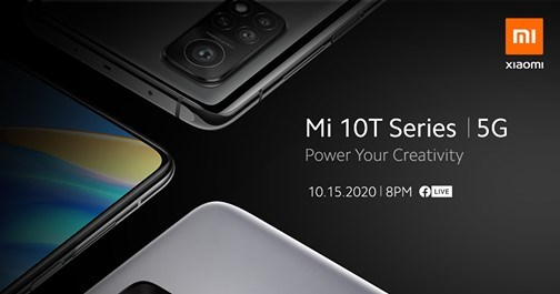 Mi 10T Series Launch in the Philippines Oct 15 8PM +8GMT
