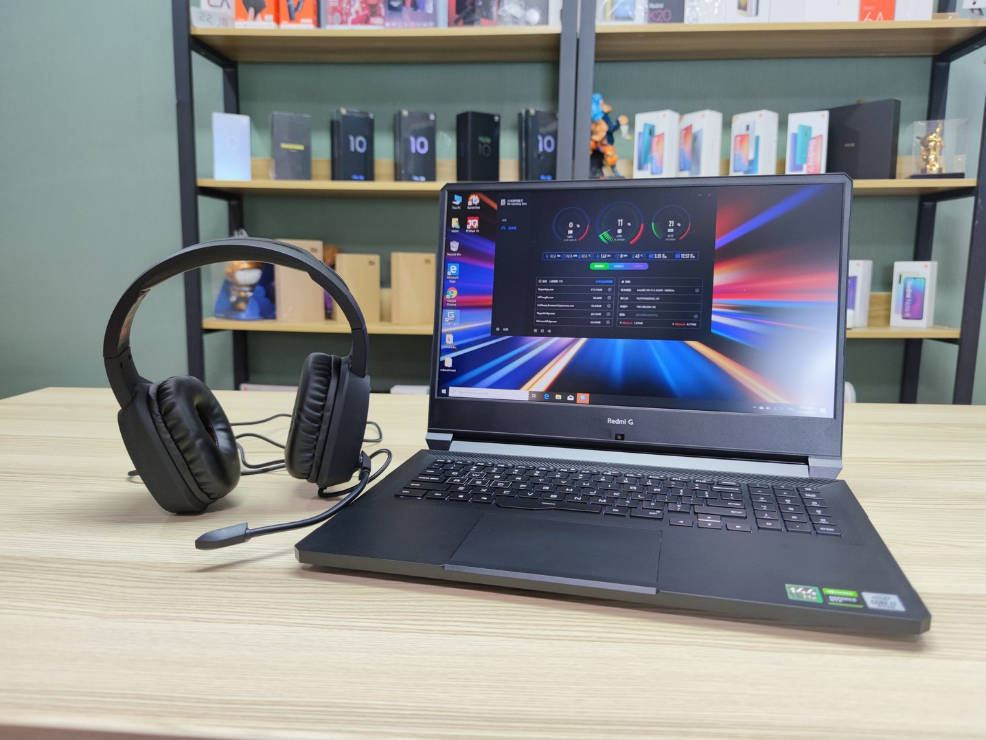 Redmi G a Gaming Laptop with 144Hz Display
