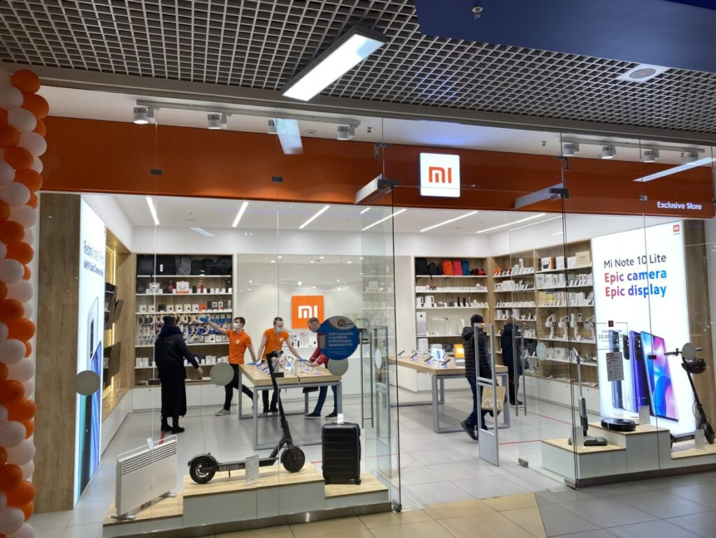 FIRST XIAOMI STORE IN THE ARCTIC CIRCLE