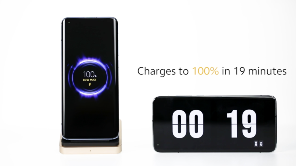 Xiaomi announced 80W wireless charging