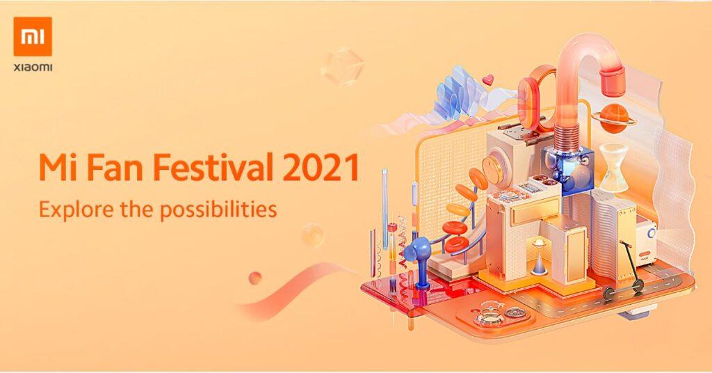 """Mi Fan Festival 2021 """"Explore the Possibilities"""" with Redmi Note 10 Pro Mi Fan Festival Special Edition"""