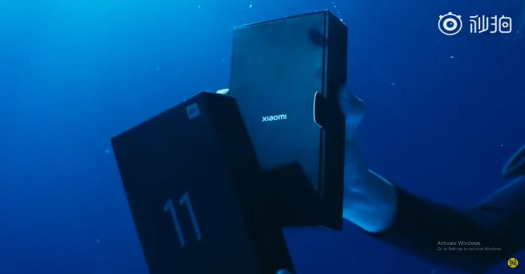 Xiaomi Mi 11 Ultra boasts ultra-cool underwater unboxing