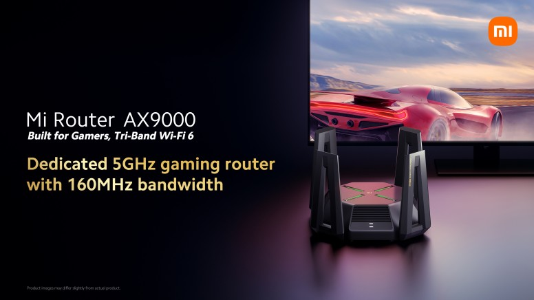 Mi Router AX9000 is a dedicated 5GHz gaming router with 160MHz bandwidth