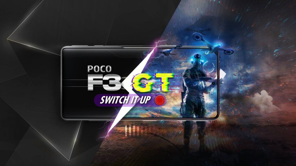 POCO F3 GT arrives in India equipped with Dimensity 1200