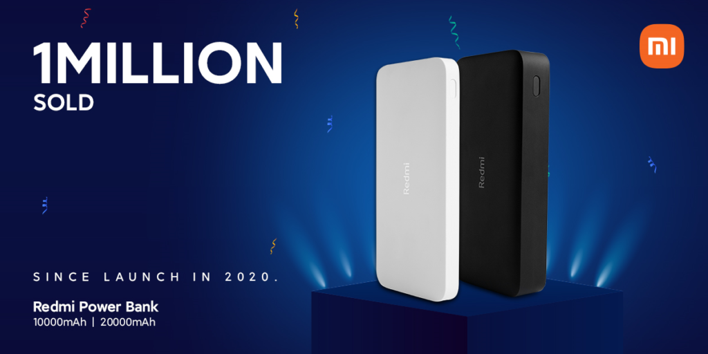 Xiaomi has sold 1 million Redmi-branded power banks that cost from PHP 599 to PHP 995