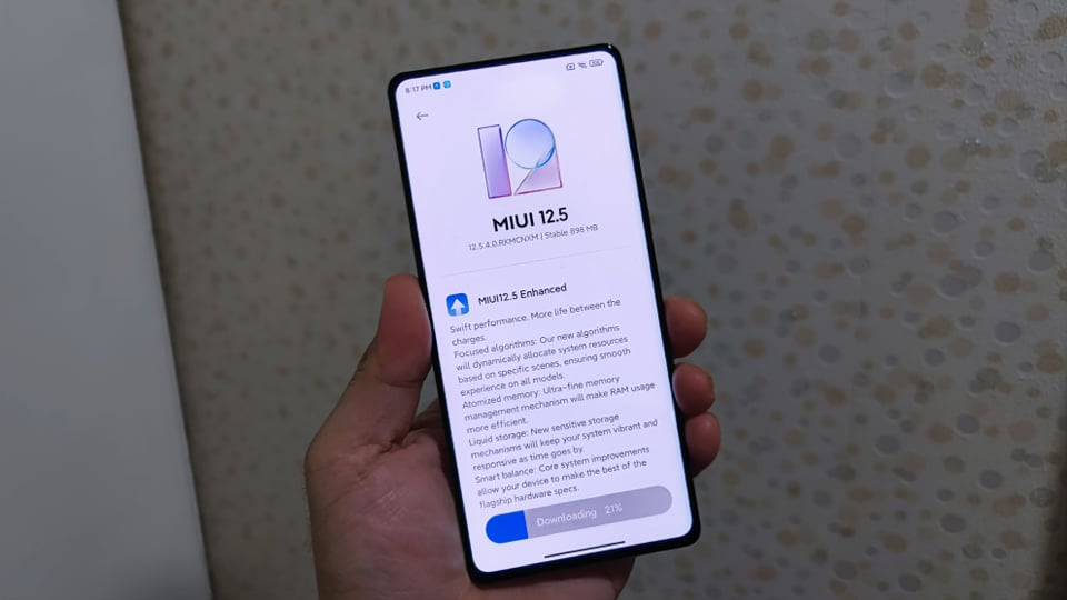 Xiaomi announces the rollout of MIUI 12.5 Enhanced Edition on nine Mi 10 and Mi 11 models