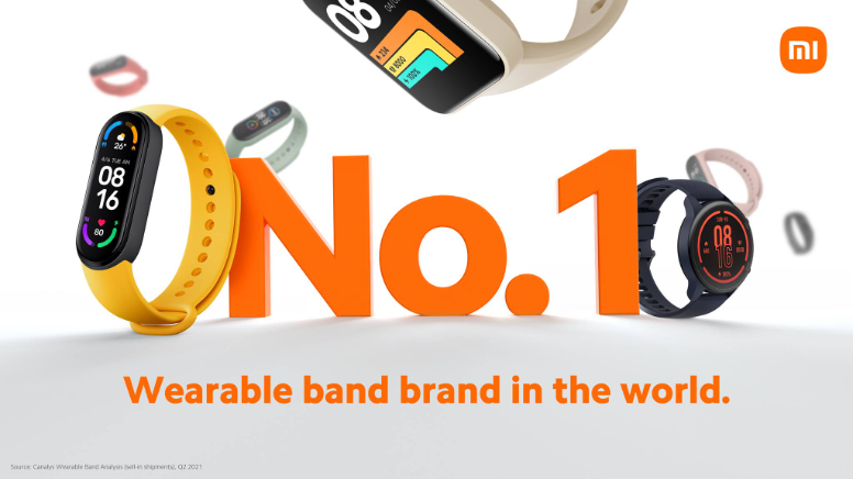 Canalys: Xiaomi is the number 1 band brand in the world in Q2