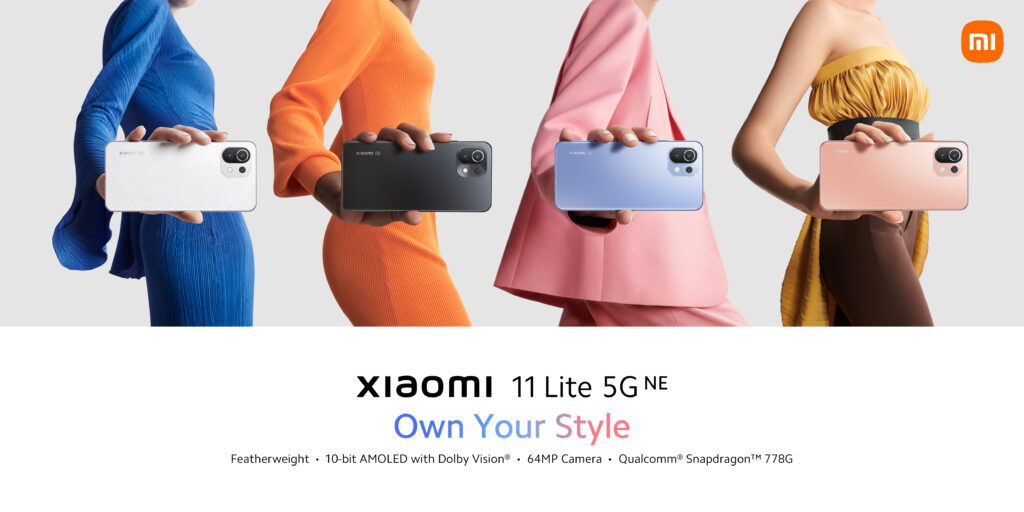 Xiaomi 11 Lite 5G NE: Performance at the highest level in a compact, light-weight body