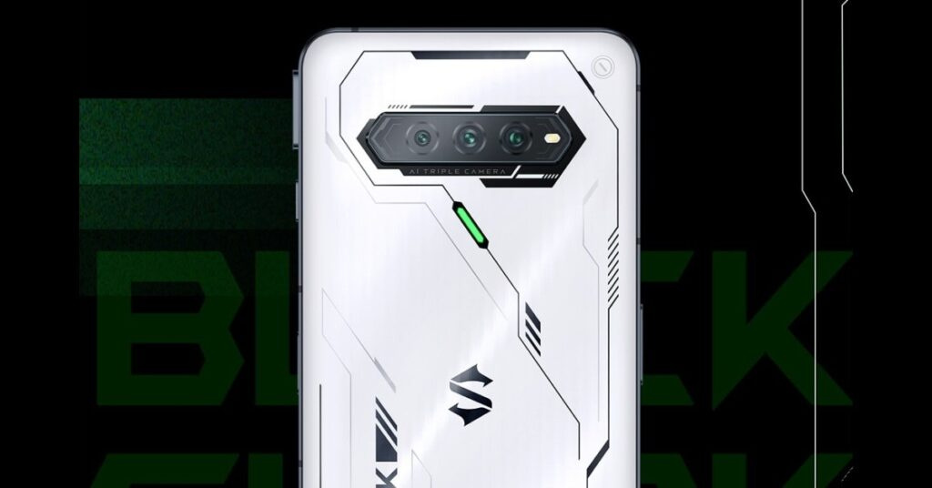 Black Shark 4S features a Samsung E4 AMOLED screen with a 144Hz refresh rate | Black Shark 4S White Gundam Edition
